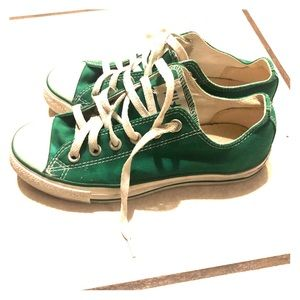 Green converse!